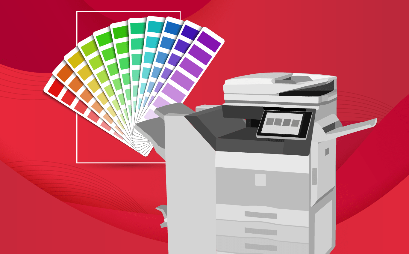 PANTONE Color Matching Now on Sharp Copiers - Les Olson Company