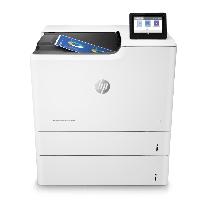 HP LaserJet Enterprise M653dn M653x Series Color Printers