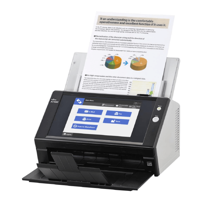 Fujitsu fi-N7100 Document Scanner