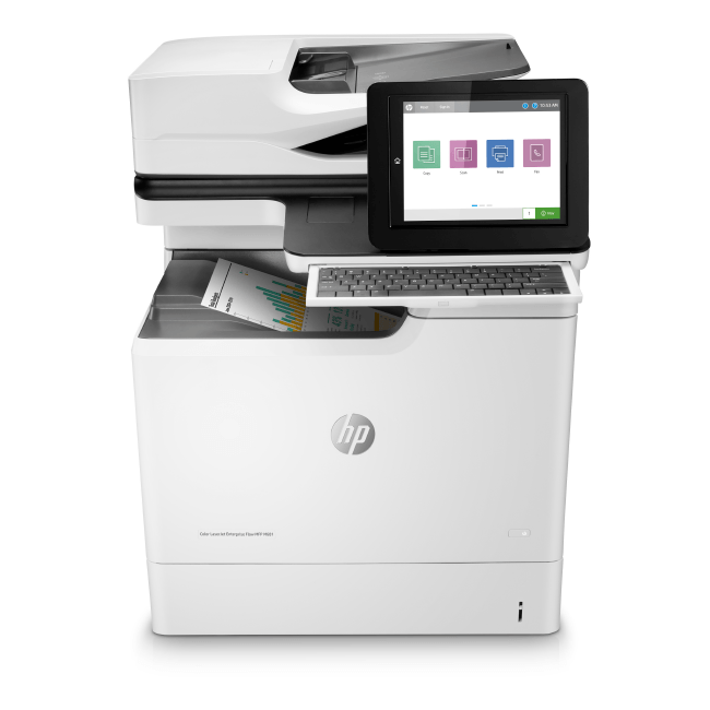 HP LaserJet Enterprise M681dh M681f M681f Flow M681z Series Color Copiers