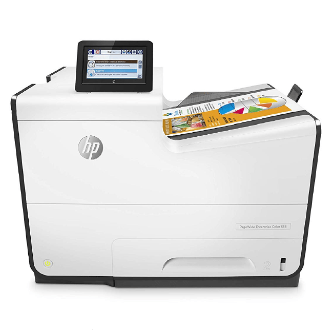 HP PageWide Enterprise 556dn Color Printer