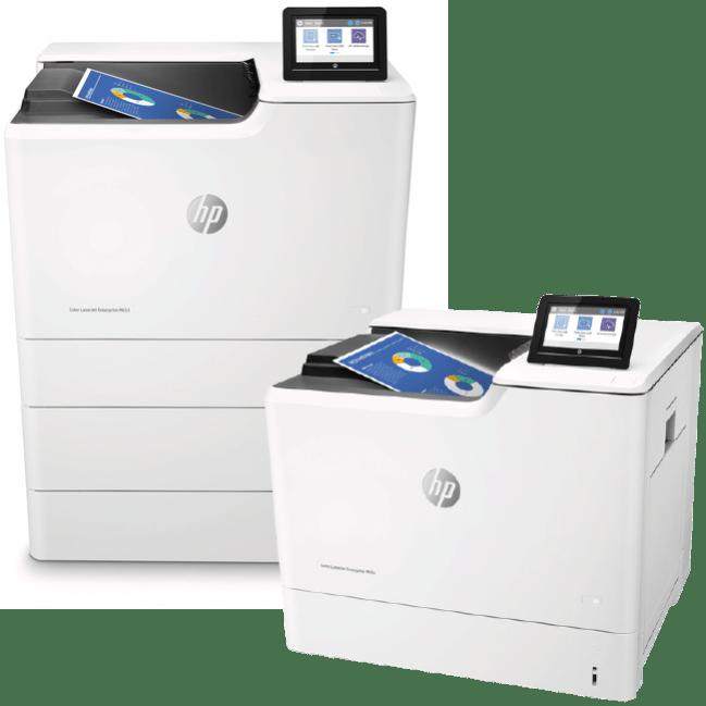 HP LaserJet Enterprise M653dn M653x Series Color Printers