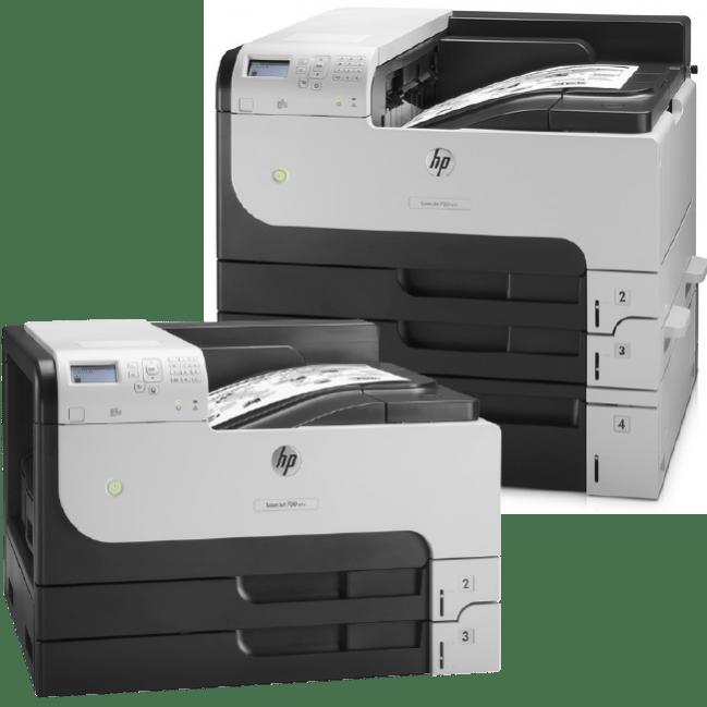 HP LaserJet Enterprise M712dn M712n M712xh Series Monochrome Printers