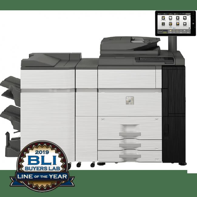 Sharp MX-7090N MX-8090N Series Color Copiers