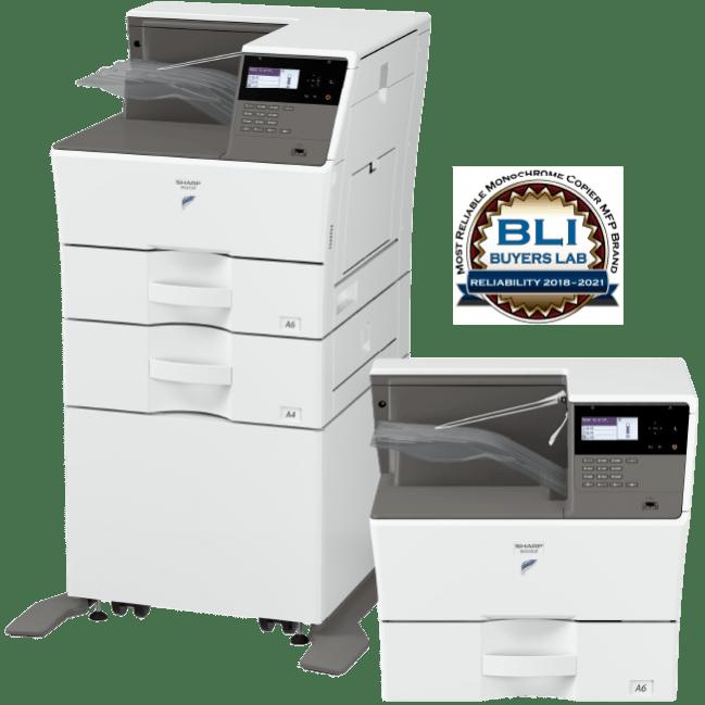 Sharp MX-B350P MX-B450P Series Monochrome Printers